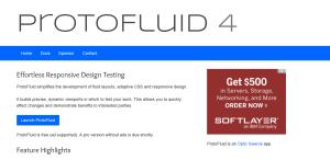 Protofluid Testing Site